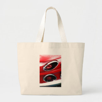 Red Corvette Stingray Tote Bags
