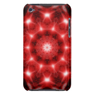 Red Cosmos Mandala iPod Touch Cover