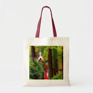 Red Country Church Canvas Bag