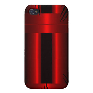 Red  cover for iPhone 4