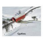 Red Covered Bridge, Québec Postcard