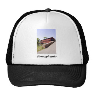 Red Covered Bridge Trucker Hat