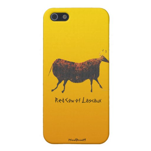 Red Cow of Lascaux iPhone 5 Covers