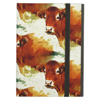 Red Cow Painting iPad Air Case