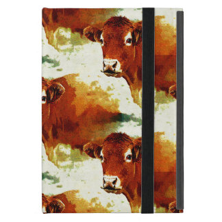 Red Cow Painting iPad Mini Covers