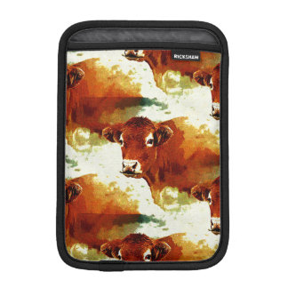 Red Cow Painting iPad Mini Sleeve