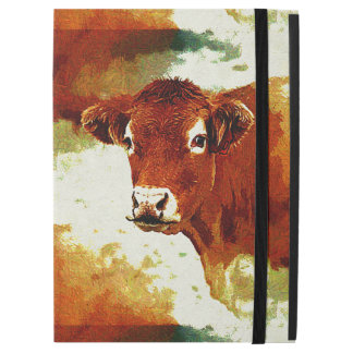 Red Cow Painting iPad Pro Case