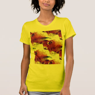 Red Cow Painting Tee Shirt
