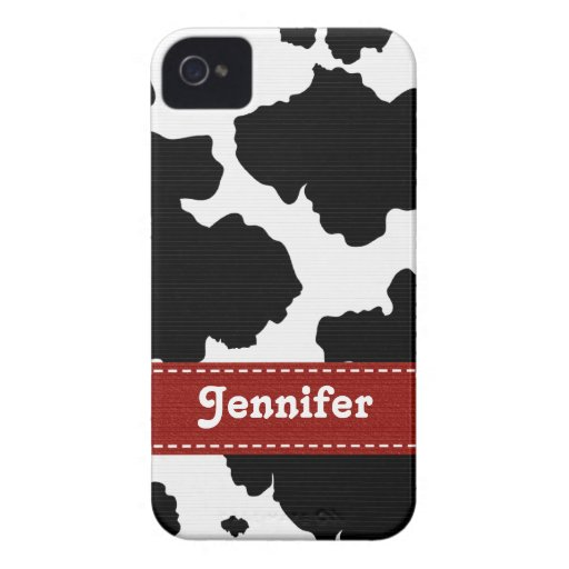 Red Cow Skin iPhone 4 4s Case-Mate Cover Case-Mate iPhone 4 Cases