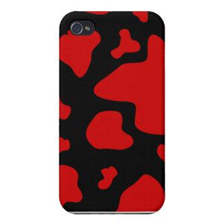 Red Cow Splash Print Speck Case iPhone 4/4S Case