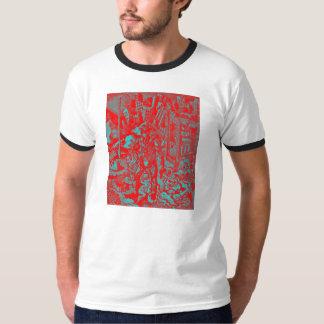 Red Cowboy Men's Ringer Shirt