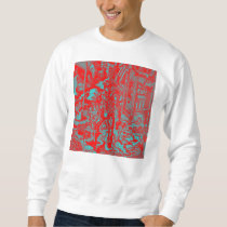 Red Cowboy Men's Sweater