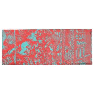 Red Cowboy Wallet Tyvek® Billfold Wallet