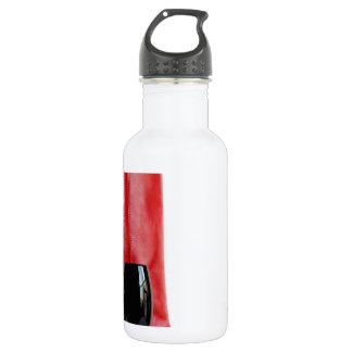 Red Cowgirl Boot Western Wineglass Wine 18oz Water Bottle