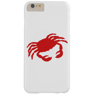 Red crab barely there iPhone 6 plus case