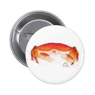 Red Crab Pin