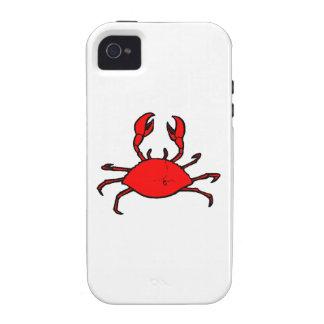 Red Crab Case-Mate iPhone 4 Cases