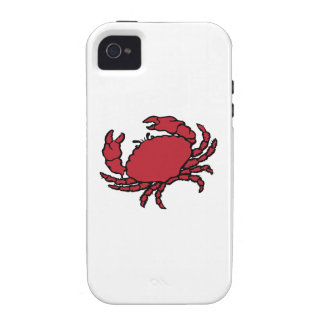 Red Crab Case-Mate iPhone 4 Cover