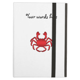 Red crab case for iPad air