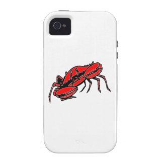 Red Crab iPhone 4/4S Cases