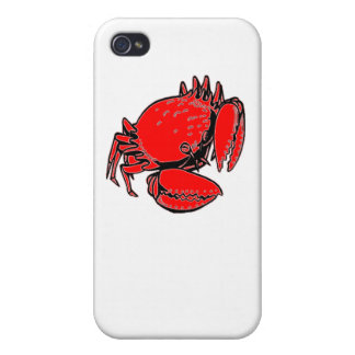 Red Crab iPhone 4 Cover