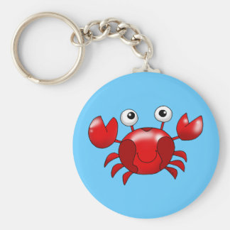 Red crab keychains