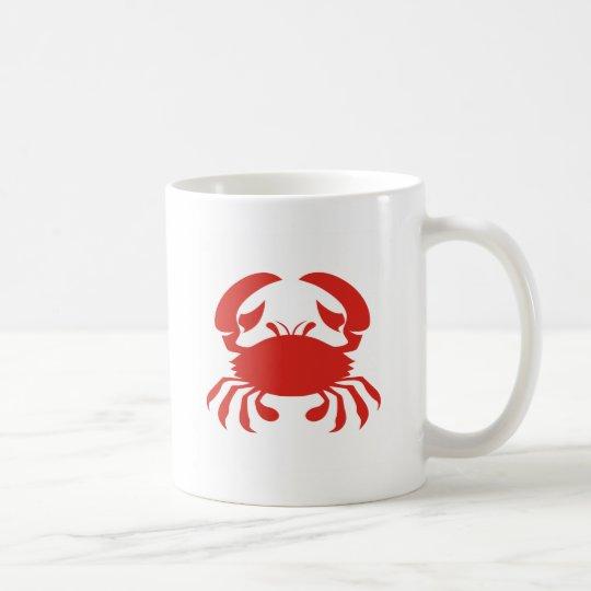 Red Crab Logo Coffee Mug