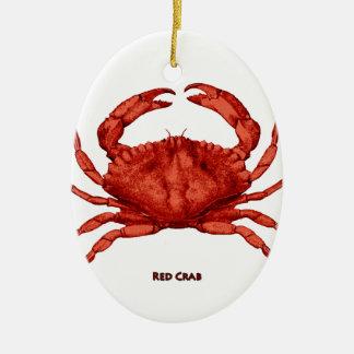 Red Crab (Pacific) Ceramic Ornament