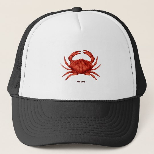 Red Crab (Pacific) Trucker Hat