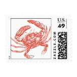 Red Crab Postage