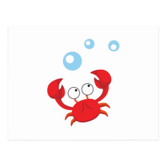 Red Crab Postcard