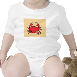 Red Crab sand Infant T-shirt