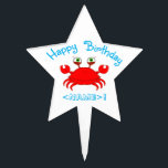 """Red Crab Star Cake Pick<br><div class=""""desc"""">Coming Soon!</div>"""