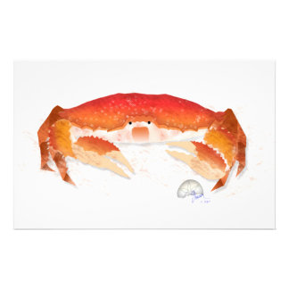 Red Crab Stationery