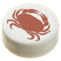 Red Crab Symbol Seafood Boil Chocolate Dipped Oreo