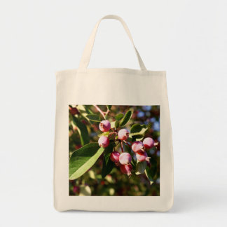 Red Crabapples Grocery Tote Bag