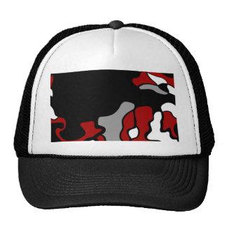 Red crativity trucker hat