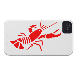 Red crawfish on iPhone 4 iPhone 4 Case