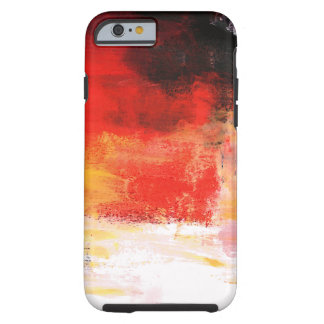 Red Creative Abstract Artwork iPhone 6 Case