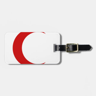 Red Crescent Luggage Tags