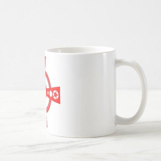 Red Cross and Stars Coffee Mug
