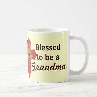 Red Cross Blessed to be a Grandma Mug