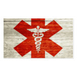 red cross business card