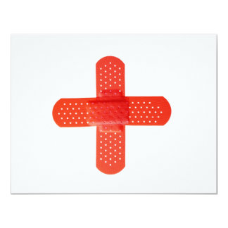 Red cross card