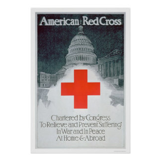 Red Cross Chartered by Congress (US00297) Poster