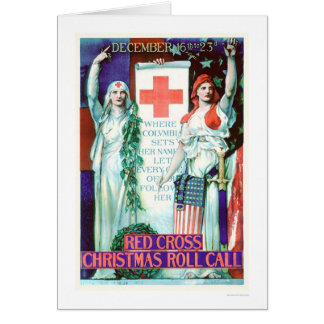 Red Cross Christmas Roll Call (US00205) Greeting Cards