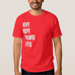 + RED CROSS DONATION + GIVE HOPE CHANGE LIVES TEE