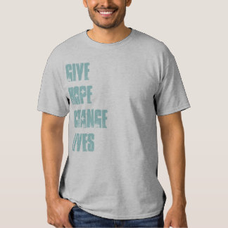 RED CROSS DONATION! GIVE HOPE CHANGE LIVES Vintage Tshirt