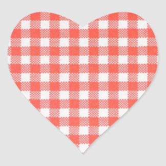 red cross-hatched heart sticker