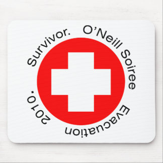 RED CROSS HERE MOUSE PADS
